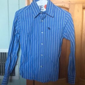 Abercrombie boys button down dress shirt